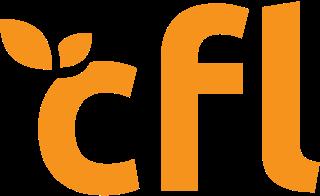 Orange CFL Roofing Logo